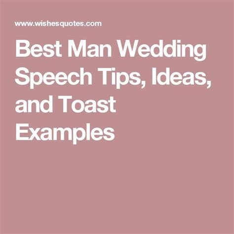Best 25  Best man speech examples ideas on Pinterest