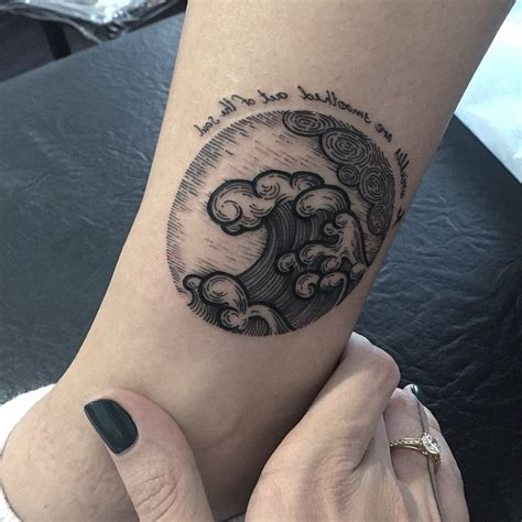 wave tattoo design wave tattoos designs ideas and meaning tattoos for you