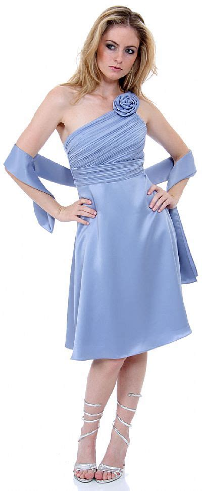 Ravishing Dresses by Ravishing One Shoulder Bridesmaid Dress 11273