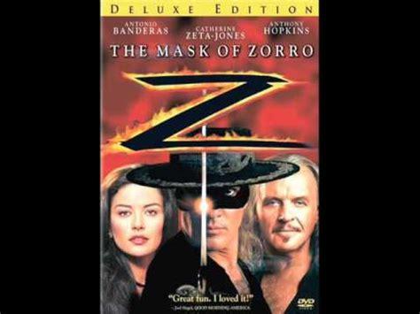 theme song zorro the mask of zorro theme youtube