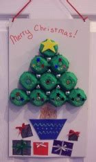 4h christmas tree from old egg carton craft ideas make decorations for
