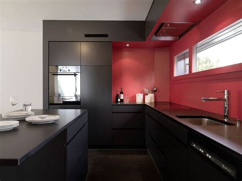 red backsplash for kitchen small modular kitchen designs in india decosee com