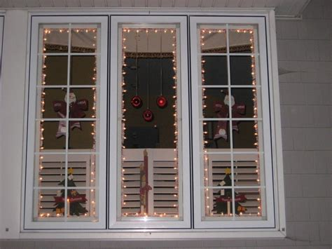 christmas window lighting frames