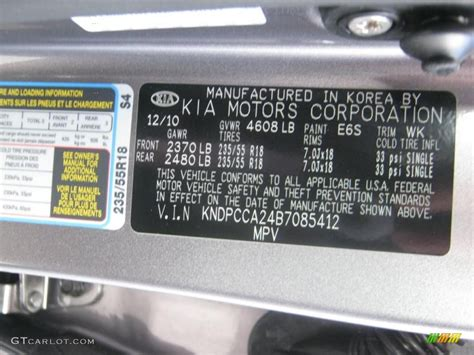 paint color codes for kia ideas 2014 kia sorento lx awd color code photos gtcarlot 2009
