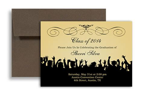 free templates for graduation announcements 2014 graduation invitation templates with photo graduation