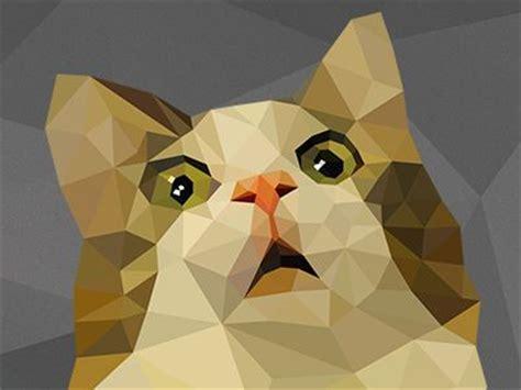 wallpaper poly cat 145 best low poly art images on pinterest cubism