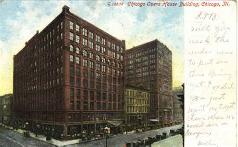 Chicago Opera House by Destroyed Landmarks In The United States