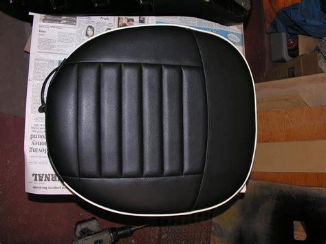 vinyl car seats vs leather vinyl vs leather trf moss seat covers tr6 tech