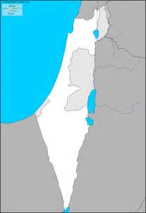 Free Outline Map Of Israel by Blank Map Jerusalem