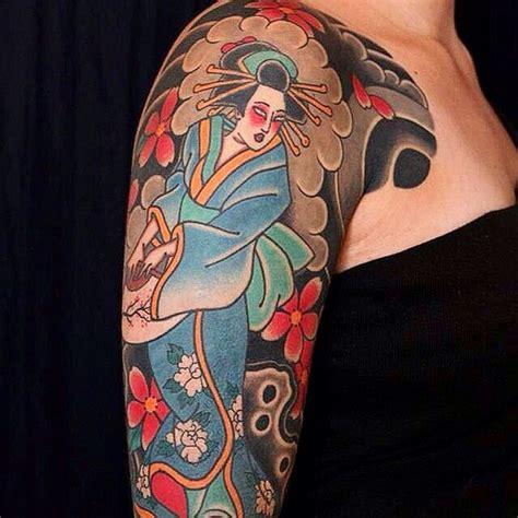 geisha house tattoo 52 japanese geisha tattoos ideas and meanings