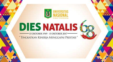 format proposal dies natalis dies natalis universitas nasional ke 68 tahun