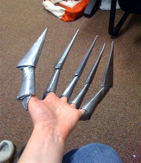 How Do You Make Paper Fingers - claws by sabrepanther on deviantart