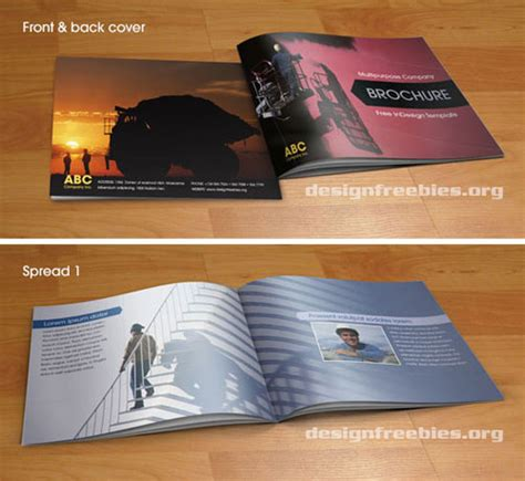 booklet brochure template ultimate collection of free adobe indesign templates