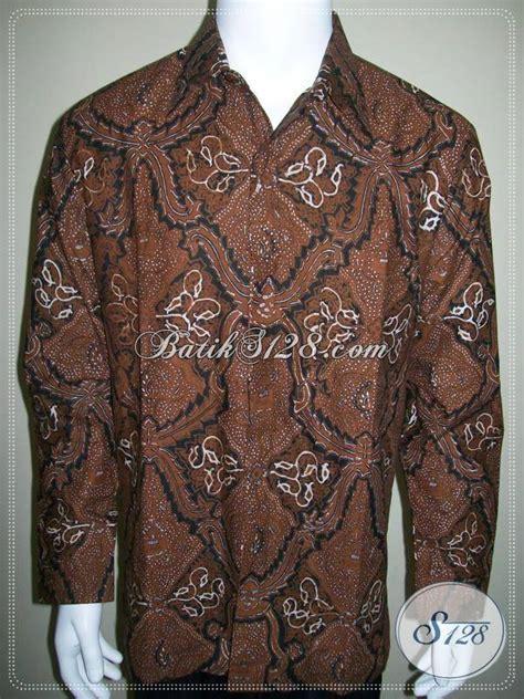 Sarimbit Batik Semi Tulis baju batik resmi klasik jogja batik lengan panjang semi