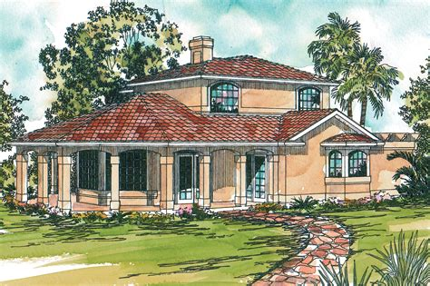 Mediterranean House Plan by Mediterranean House Plans Lauderdale 11 037 Associated