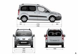 Peugeot Tepee Dimensions Peugeot Partner Tepee Dimensions Fhoto