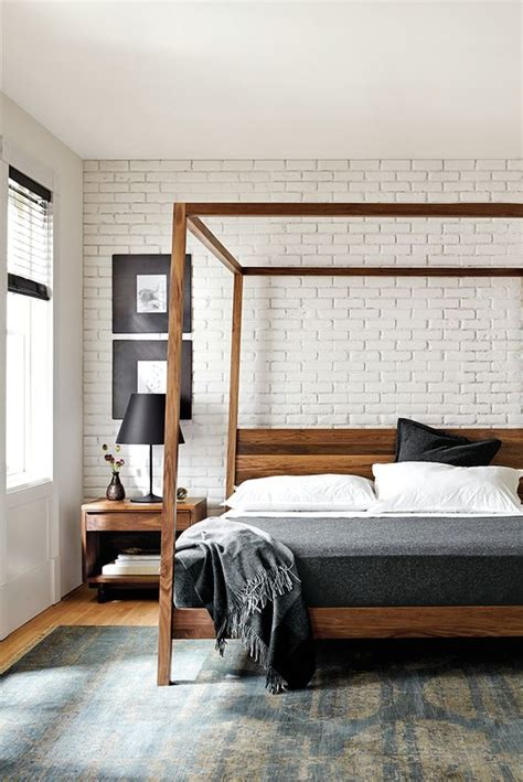 white blue brown bedroom hairstylegalleries com 30 trendy brick accent wall ideas for every room digsdigs