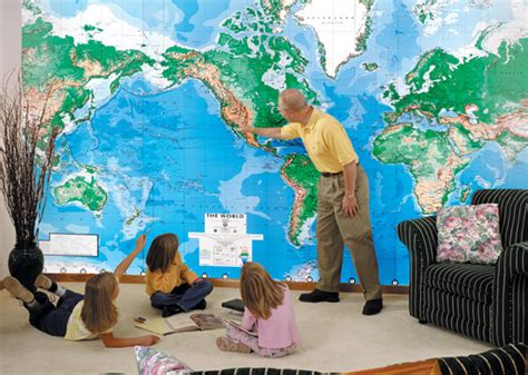 world wall mural world map wall mural