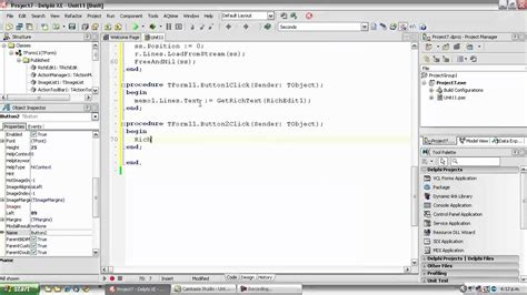 C Tutorial For Delphi Programmers | delphi programming tutorial 56 extracting richtext from