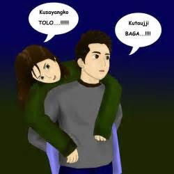 gambar foto kartun romantis di gendong apps directories