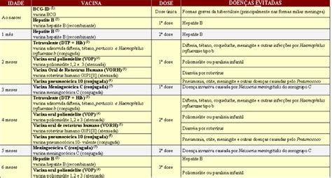 Calendario Vacinal Calend 193 Vacinal 2013 Minist 201 Da Sa 218 De Informa 199 195 O