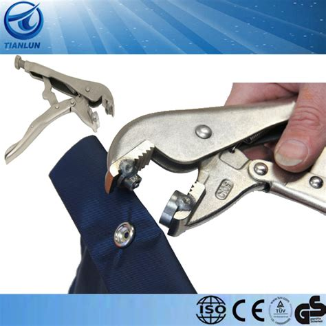 Valueshop Tang Gegep Blister 10 punch tang gat punch tang snap setter vergrendeling tang snap tool buy product on alibaba