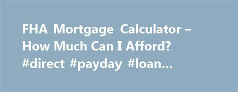 17 best ideas about mortgage calculator on