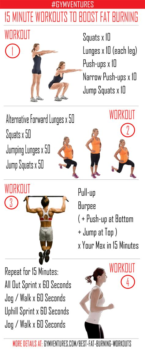 The Best Routine For Burning by 5 Best Burning Workouts 15 Minute Destroying