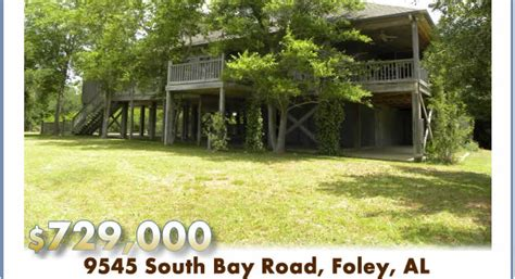 homes for in foley al foley alabama waterfront home weeks bay house for