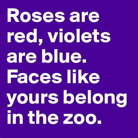 violets are blue roses are red violets are blue eksi