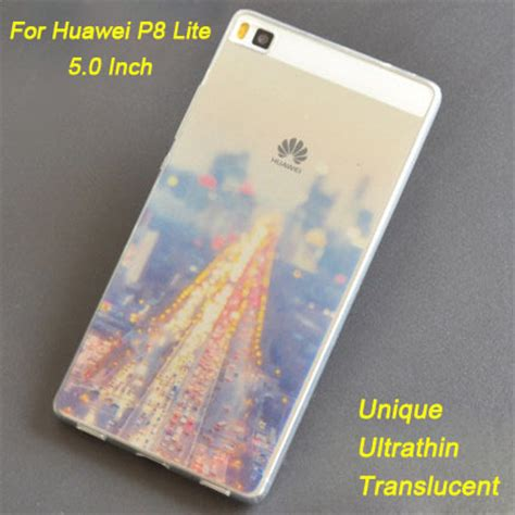 Softcase Ultrathin Tpu Lenovo 6x Gr5 2017 Mate 9 Lite aliexpress buy huawei p8 lite cover 0 6mm ultrathin translucent tpu soft