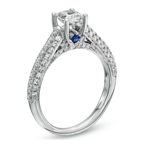 princess cut engagement ring vera wang