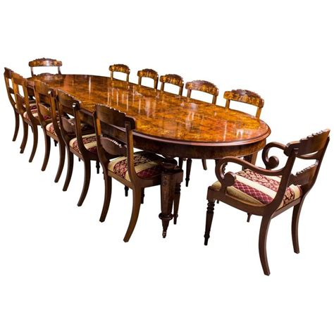 large marquetry dining ref   regent antiques