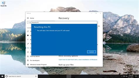 hp windows 10 tutorial restore hp all in one computer to factory settings in