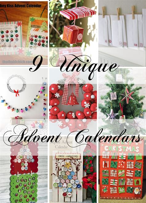 Unique Advent Calendars 9 Unique Advent Calendars To Count To