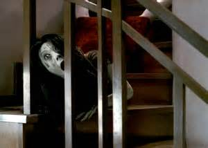 The Grudge Coming Down The Stairs cinema freaks review the grudge 2004