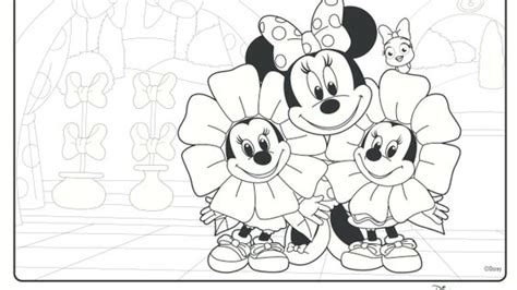 Minnie Mouse Bow Toons Coloring Pages | minnie s bow toons coloring pages and crafts disney