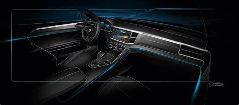 Interior Design Concepts 2013 Volkswagen Crossblue Coupe Concepts