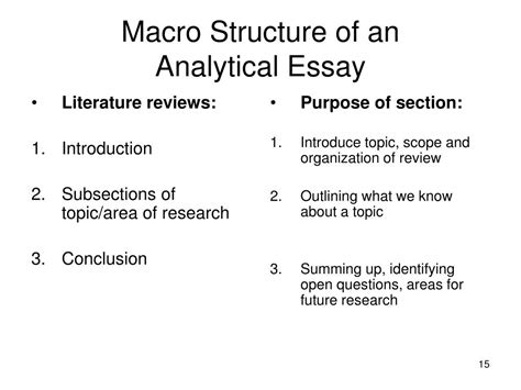 Analytical Essay Structure by How To Write An Analytical Essay Structure