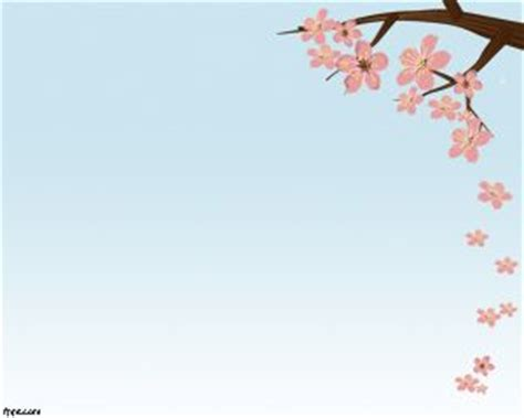 cherry blossom template cherry blossom powerpoint template