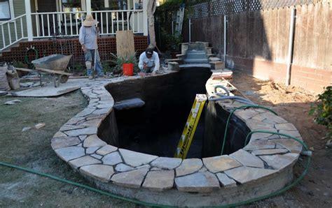 Koi Pond Plumbing by New Koi Pond Construction Plumbing Filter Design