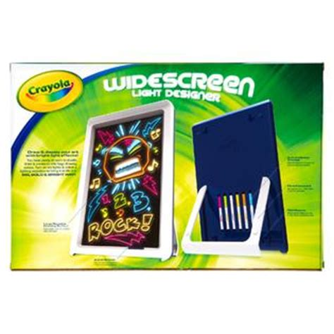 crayola widescreen light designer crayola widescreen light designer kit toys games