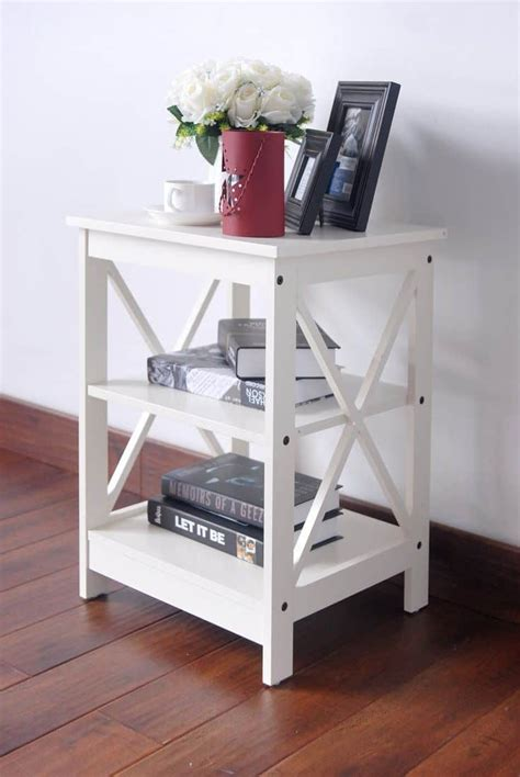 terrific small side table options   living room