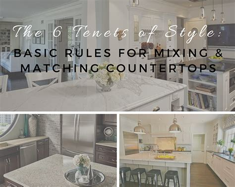 Mixing Countertop Materials by M S International Education And Information On