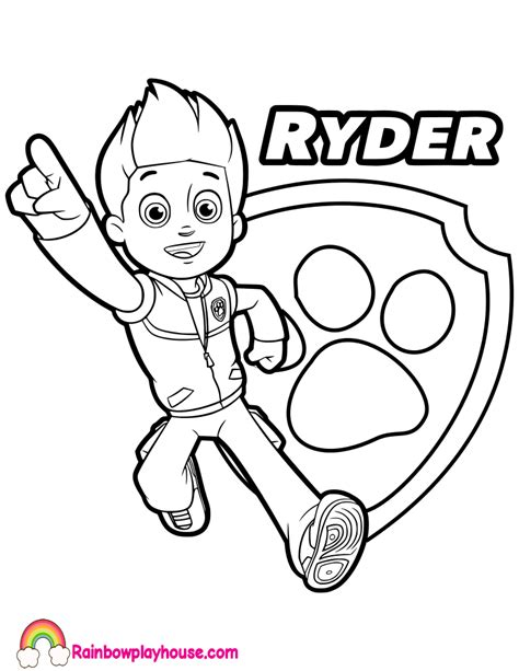 paw patrol ryder coloring pages to print paw patrol ryder coloring pages to print coloring pages