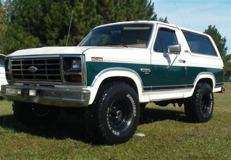 how things work cars 1986 ford bronco parental controls find used 1986 ford bronco 4x4 with 35 quot tires in dunnellon florida united states