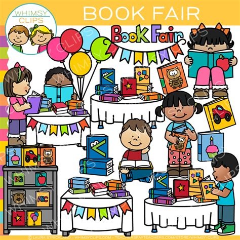 book fair clip school clip images illustrations whimsy