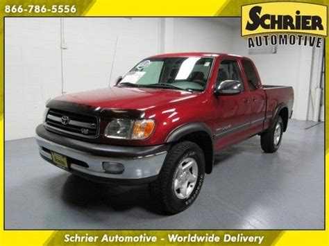 Toyota Trd Package Purchase Used 2002 Toyota Tundra Sr5 4x4 4 7l V8 Trd