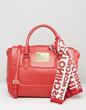 Moschino Patent Shopper Bag moschino shop moschino for bags handbags and