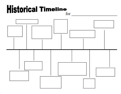 historical page template 9 timeline templates for sles exles format